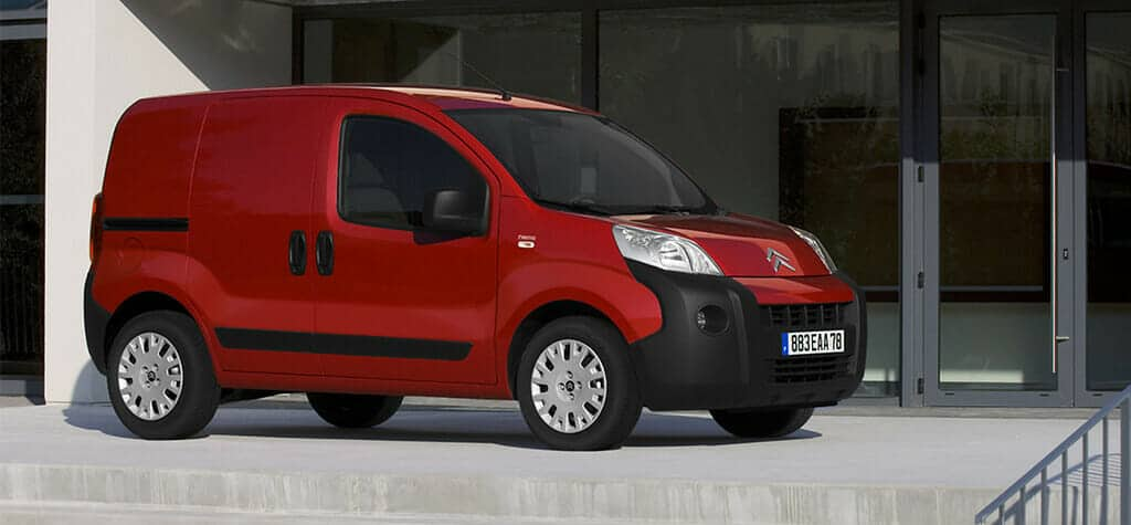 2017/2018 Citroen Nemo Freezer Van Review