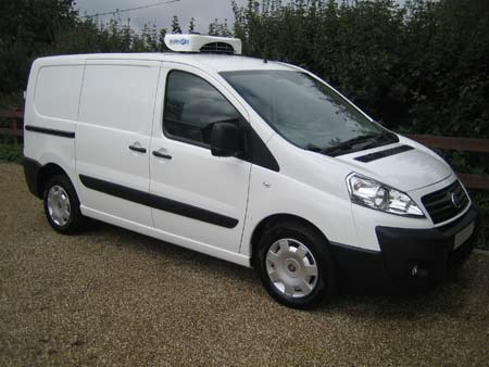 New Fiat Scudo Refrigerated Van For Sale