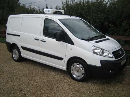 Fiat's Compact Refrigerated Doblo Van