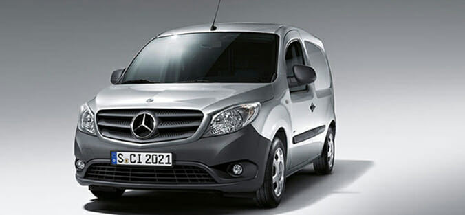 2016 Mercedes Citan 109 CDi Compact Refridgerated Van Review