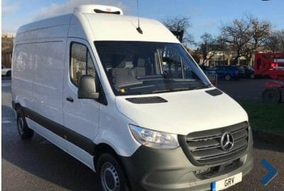 2019 Mercedes Sprinter 314 CDi L2 H2 Fridge Van For Sale