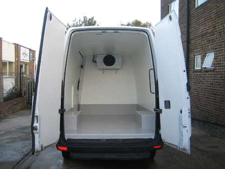 What You Get with 3 Different Mercedes Freezer Vans