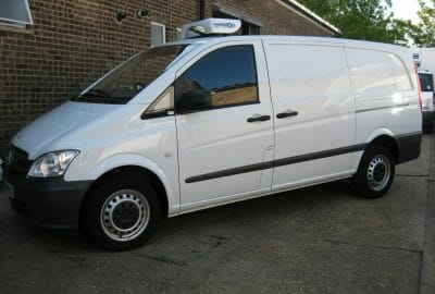 New Mercedes Vito Freezer Van For Sale