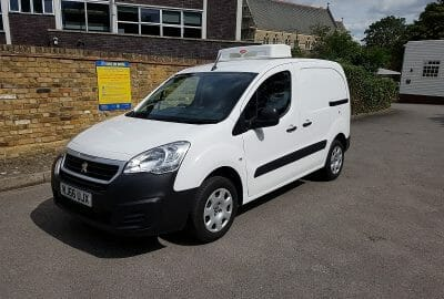 2016 Peugeot Partner L1 H1 1.6 HDi Professional Fridge Van For Sale