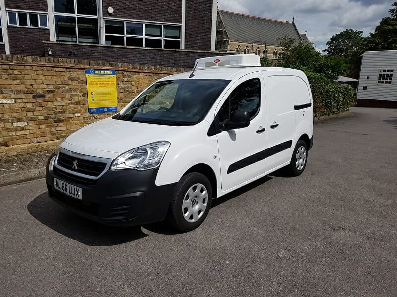 2016 Peugeot Partner L1 H1 1.6 HDi Professional Fridge Van For Sale