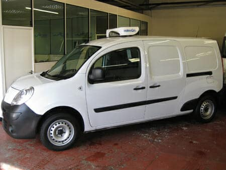 The 2015 Vauxhall Movano Refrigerated Van