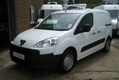 New Peugeot Partner Refrigerated Van For Sale