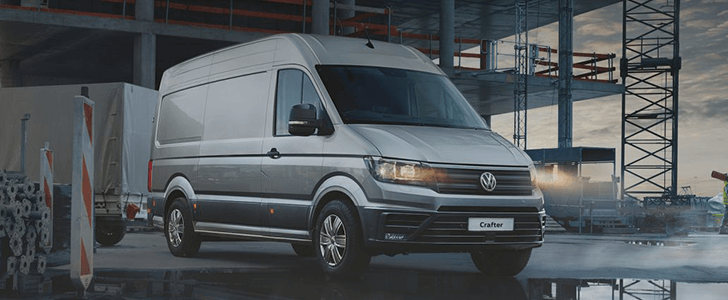Volkswagen Crafter Freezer Van 2018 Review