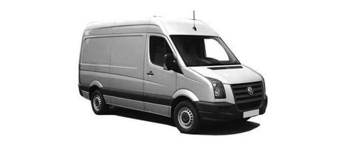 Volkswagen Crafter Freezer Van Specifications