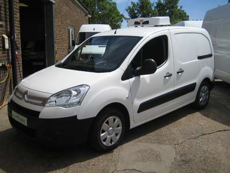 The Citroen Dispatch Refrigerated Van