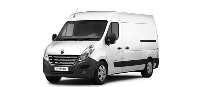 Renault Master Freezer Van Specifications