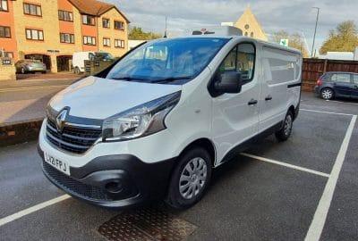 2021 Renault Trafic SL27 L1 H1 120 Business Freezer Van For Sale