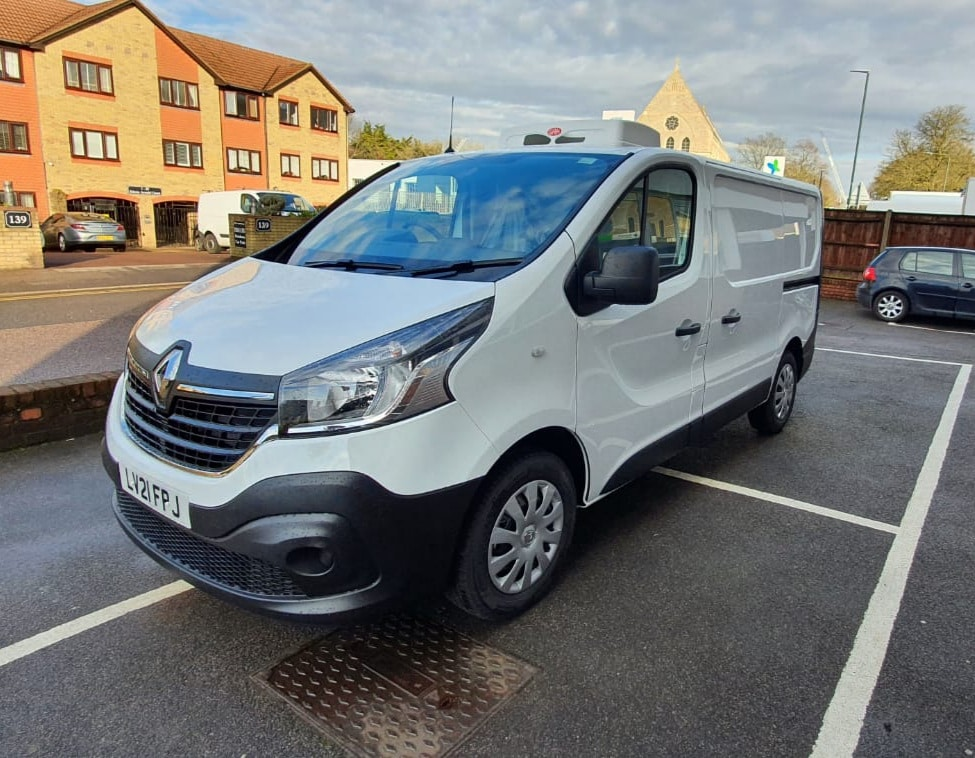 2021 Renault Trafic SL27 L1 H1 120 Business Fridge Van For Sale