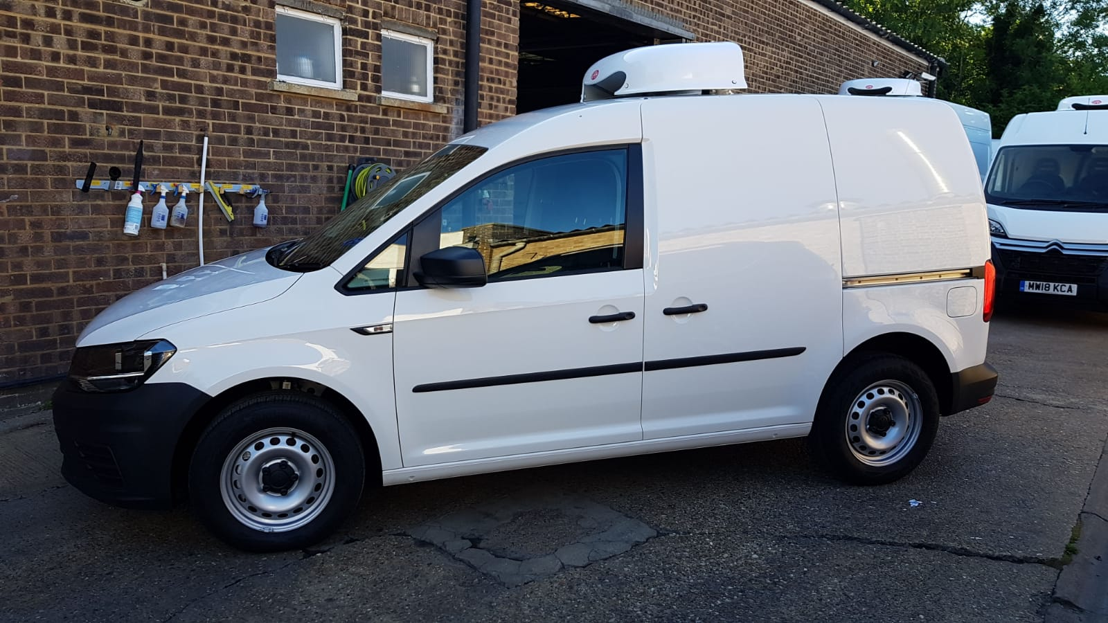 2018 Volkswagen Caddy 2.0 TDi Freezer Van For Sale