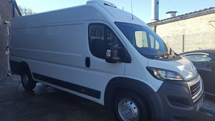 2019 Peugeot Boxer L3 H2 130ps Professional Fridge Van For Sale