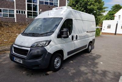 2017 Peugeot Boxer L2 H2 333 Freezer Van For Sale