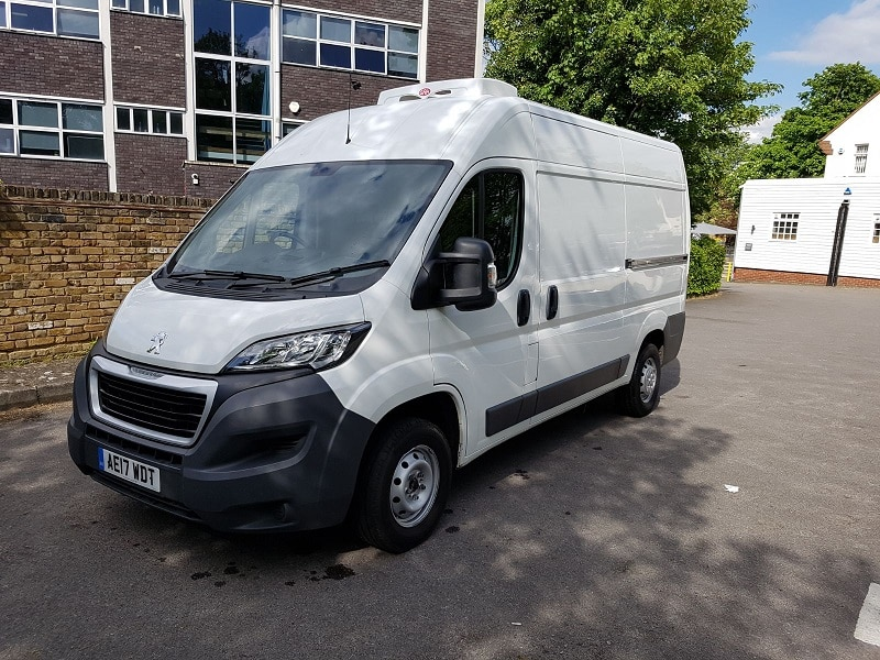 2017 Peugeot Boxer L2 H2 333 Fridge Van For Sale