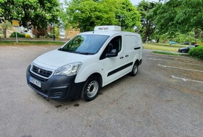 2017 Peugeot Partner 750 L2 H1 LWB Fridge Van For Sale