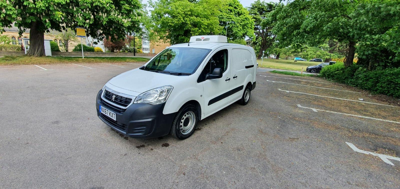 2017 Peugeot Partner 750 L2 H1 LWB Freezer Van For Sale