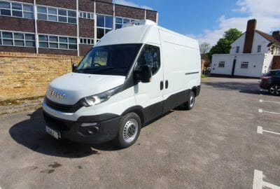 2017 Iveco Daily 35S14 MWB High Roof Fridge Van For Sale