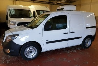 Two 2018 Mercedes Citan 109 CDi LWB Freezer Van For Sale