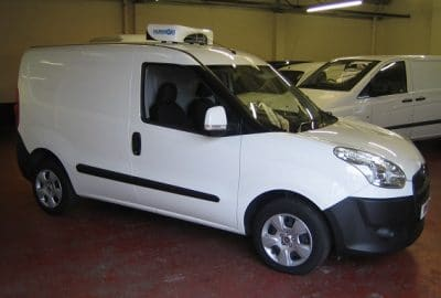 2017 Fiat Doblo Cargo L1 H1 Fridge Van For Sale