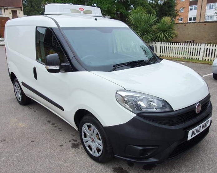 2018 Fiat Doblo Cargo L1 H1 1600 Freezer Van For Sale