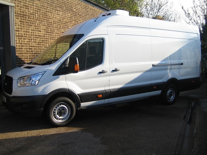 New Ford Transit Jumbo Refrigerated Van For Sale