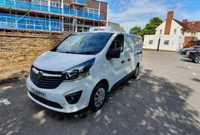 2018 Vauxhall Vivaro LWB Sportive 2.9T 1.6 CDTi Fridge Van