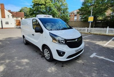 2018 Vauxhall Vivaro L2 H1 120 Sportive Fridge Van For Sale