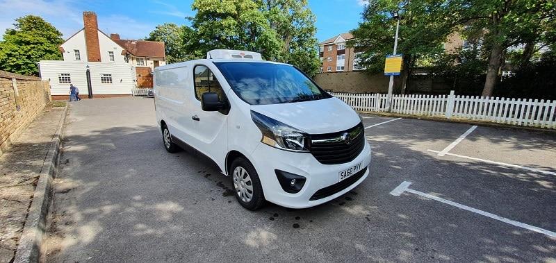 2018 Vauxhall Vivaro L2 H1 120 Sportive Fridge Van For Sale