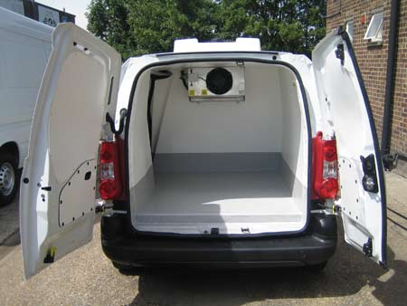 2017 Peugeot Partner L1 H1 Professional Freezer Van For Sale