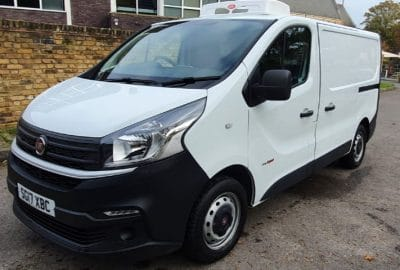 2017 Fiat Talento 10 SWB H1 120 Fridge Van For Sale