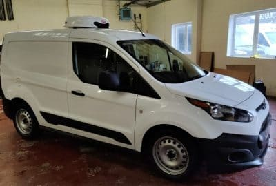 Matching Pair 2017 Ford Transit Connect T200 L1 Fridge Van For Sale