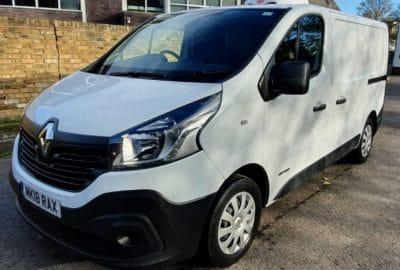 2018 Renault Trafic SL28 Business Freezer Van For Sale