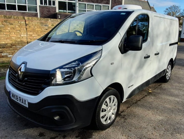 2018 Renault Trafic SL28 Business Freezer Van For Sale