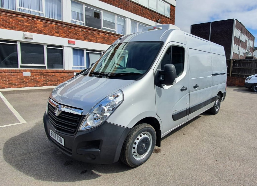 2017 Vauxhall Movano 3300 2.3 CDTi 110 L2 H2 Fridge Van For Sale
