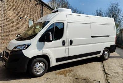 2020 Peugeot Boxer 335 L3 H2 140ps Freezer Van For Sale