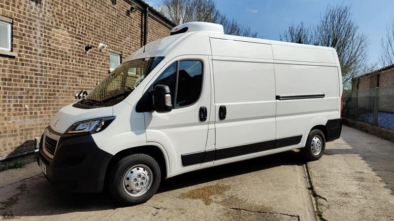 2019 Peugeot Boxer L3 H2 130ps Professional Fridge Van For Sale