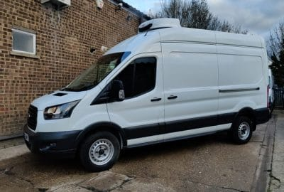 2019 Ford Transit 350 TDCi L3 H3 130ps Fridge Van For Sale